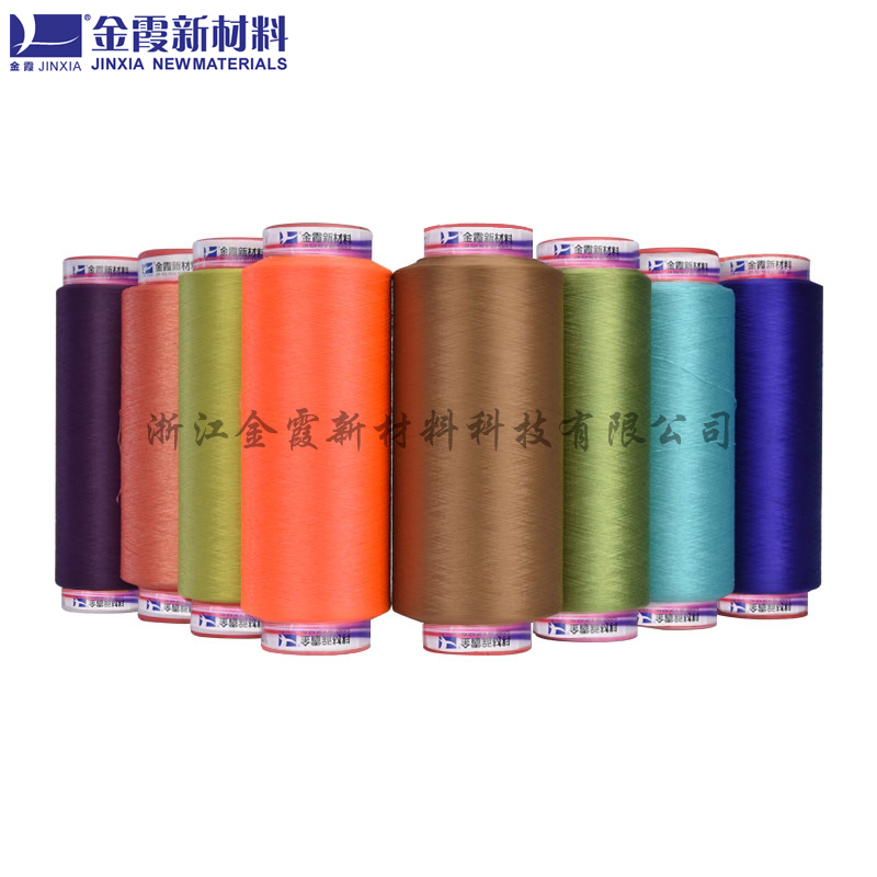 有色抗紫外线涤纶丝_金霞新材料